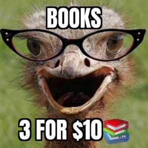 LOOK For the 3/$10📚